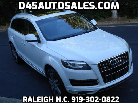 2014 Audi Q7 for sale at D45 Auto Brokers in Raleigh NC