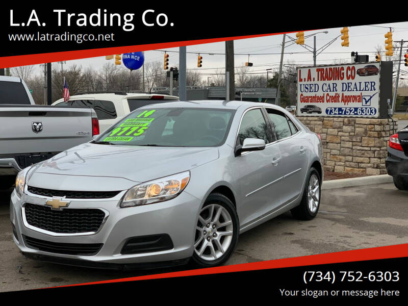2014 Chevrolet Malibu for sale at L.A. Trading Co. in Woodhaven MI