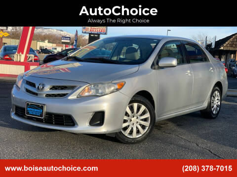 2012 Toyota Corolla for sale at AutoChoice in Boise ID