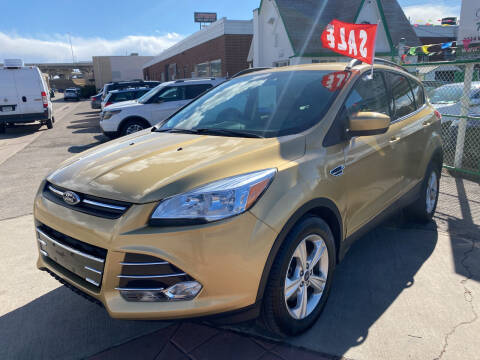 2015 Ford Escape for sale at GO GREEN MOTORS in Denver CO