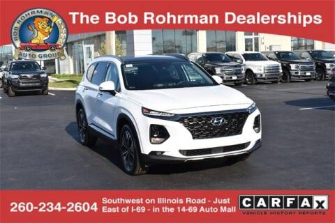 2020 Hyundai Santa Fe for sale at BOB ROHRMAN FORT WAYNE TOYOTA in Fort Wayne IN