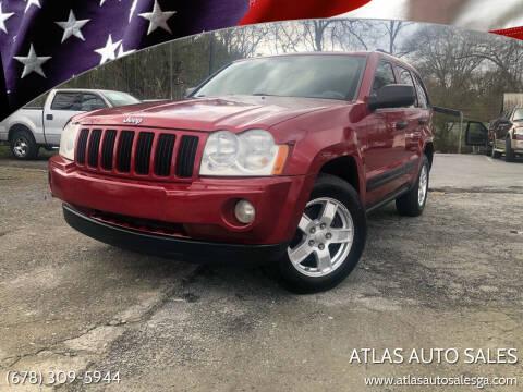 2005 Jeep Grand Cherokee for sale at Atlas Auto Sales in Smyrna GA