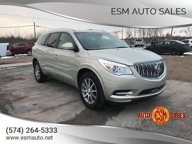 2013 Buick Enclave for sale at ESM Auto Sales - Regular Inventory in Elkhart IN