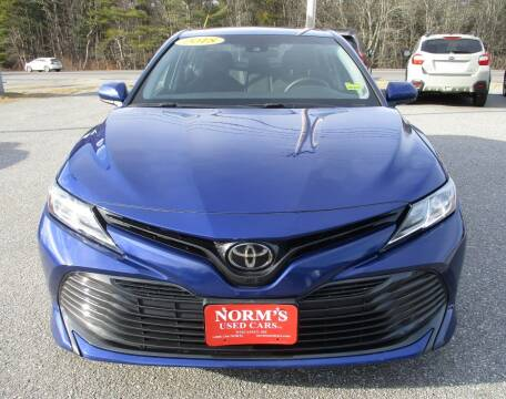 2018 Toyota Camry for sale at NORM'S USED CARS INC in Wiscasset ME