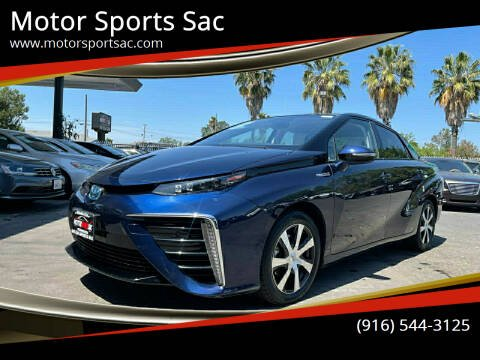 2017 Toyota Mirai for sale at Motor Sports Sac in Sacramento CA