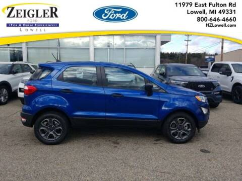 2020 Ford EcoSport for sale at Zeigler Ford of Plainwell- Jeff Bishop in Plainwell MI