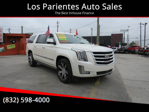 2015 Cadillac Escalade ESV for sale at Los Parientes Auto Sales in Houston TX