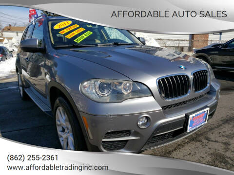 2011 BMW X5 for sale at Affordable Auto Sales in Irvington NJ