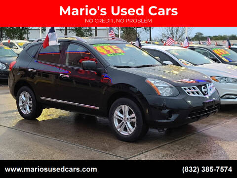 2015 Nissan Rogue Select for sale at Mario's Used Cars in Houston TX