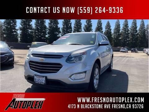 2016 Chevrolet Equinox for sale at Carros Usados Fresno in Fresno CA