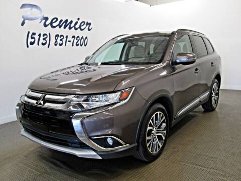 2016 Mitsubishi Outlander for sale at Premier Automotive Group in Milford OH