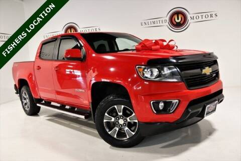 2015 Chevrolet Colorado for sale at Unlimited Motors in Fishers IN