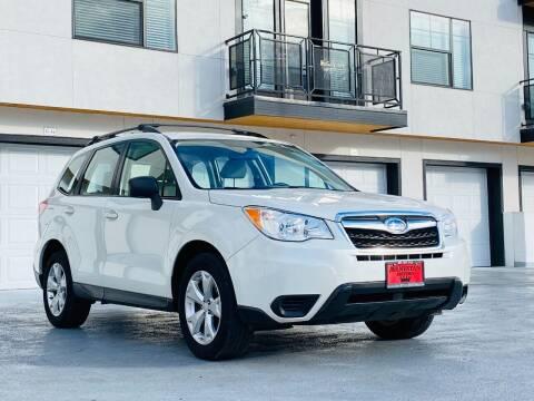 2015 Subaru Forester for sale at Avanesyan Motors in Orem UT