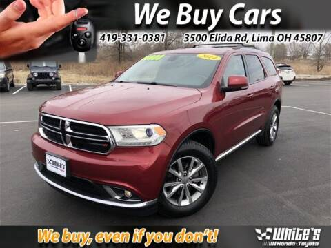 2014 Dodge Durango for sale at White's Honda Toyota of Lima in Lima OH