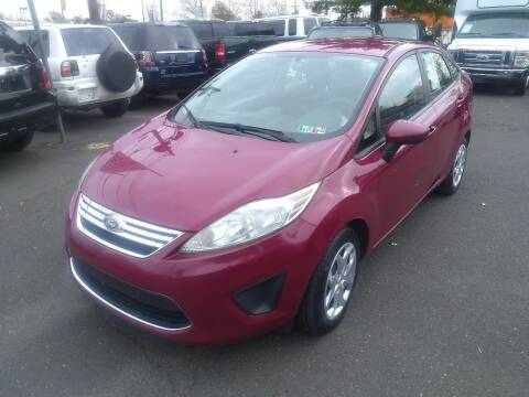 2011 Ford Fiesta for sale at Wilson Investments LLC in Ewing NJ