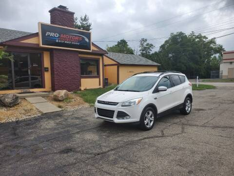 2013 Ford Escape for sale at Pro Motors in Fairfield OH