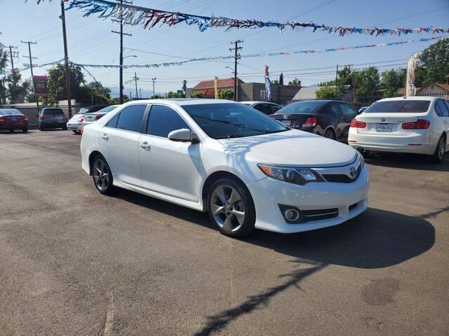2014 Toyota Camry for sale at Silver Star Auto in San Bernardino CA