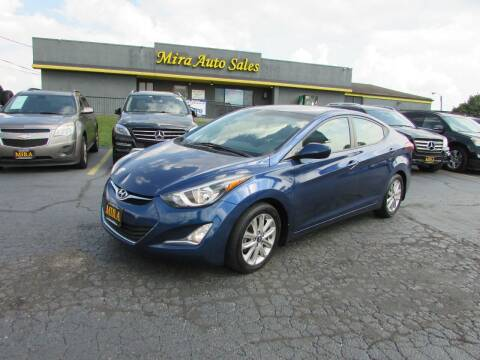 2015 Hyundai Elantra for sale at MIRA AUTO SALES in Cincinnati OH