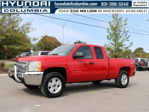 2013 Chevrolet Silverado 1500 for sale at Hyundai of Columbia Con Alvaro in Columbia TN