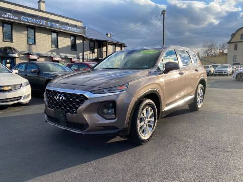 2019 Hyundai Santa Fe for sale at Sisson Pre-Owned in Uniontown PA