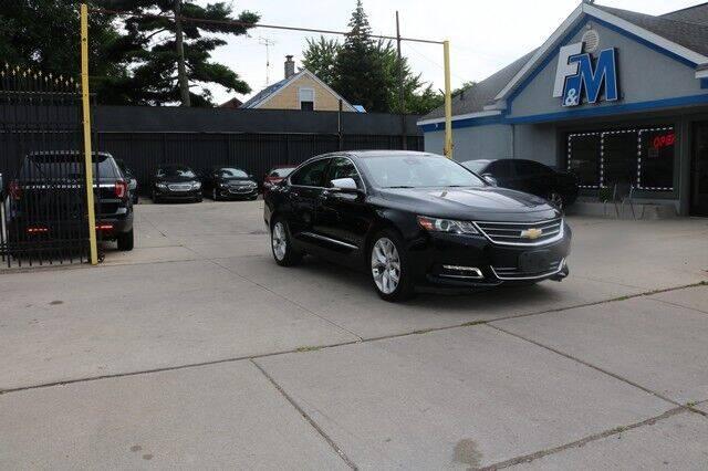 2017 Chevrolet Impala for sale at F & M AUTO SALES in Detroit MI