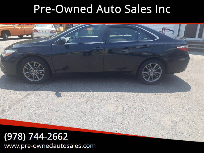 2017 Toyota Camry for sale at Pre-Owned Auto Sales Inc in Salem MA