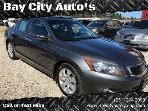 2009 Honda Accord for sale at Bay City Auto's in Mobile AL