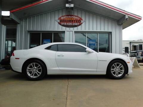 2015 Chevrolet Camaro for sale at Motorsports Unlimited in McAlester OK