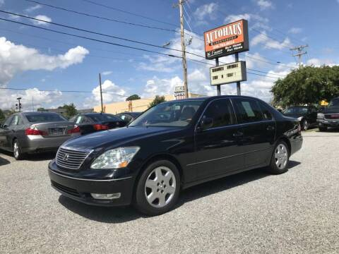 2005 Lexus LS 430 for sale at Autohaus of Greensboro in Greensboro NC