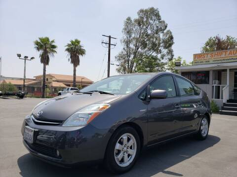 2009 Toyota Prius for sale at First Shift Auto in Ontario CA