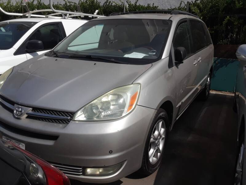 2004 Toyota Sienna for sale at Western Motors Inc in Los Angeles CA