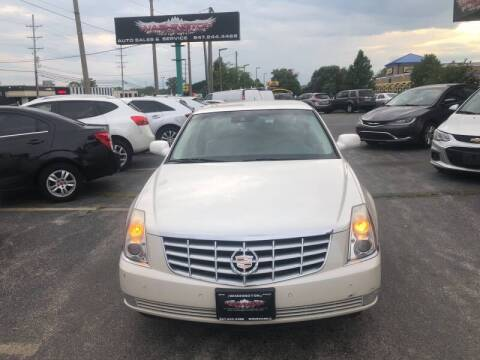 2008 Cadillac DTS for sale at Washington Auto Group in Waukegan IL