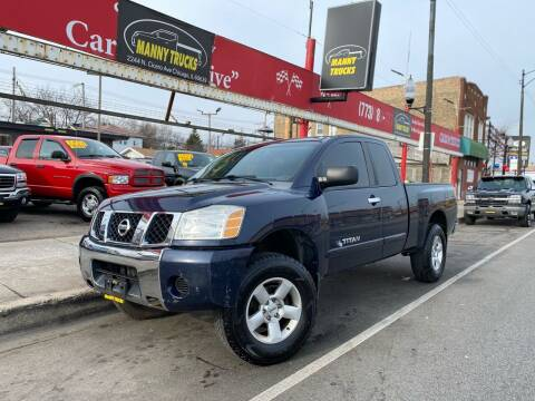 2006 Nissan Titan for sale at Manny Trucks in Chicago IL