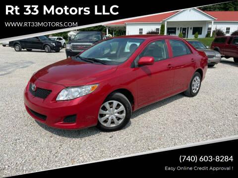 2009 Toyota Corolla for sale at Rt 33 Motors LLC in Rockbridge OH
