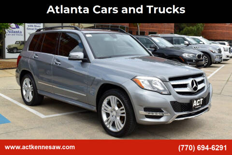 2013 Mercedes-Benz GLK for sale at Atlanta Cars and Trucks in Kennesaw GA