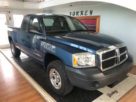 2006 Dodge Dakota for sale at Forkey Auto & Trailer Sales in La Fargeville NY