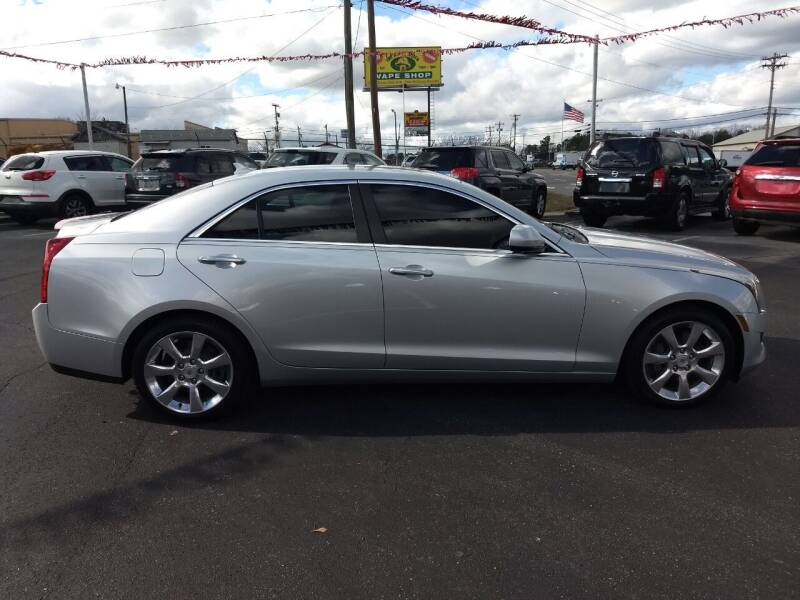 2013 Cadillac ATS for sale at Kenny's Auto Sales Inc. in Lowell NC