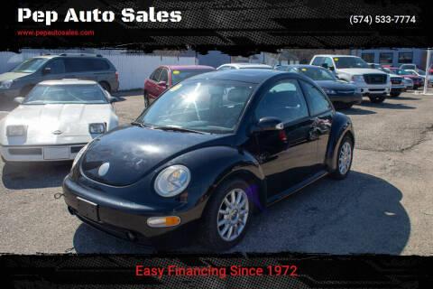 2004 Volkswagen New Beetle for sale at Pep Auto Sales in Goshen IN