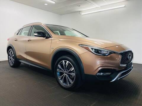 2018 Infiniti QX30 for sale at Champagne Motor Car Company in Willimantic CT