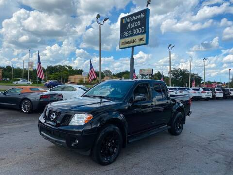 2018 Nissan Frontier for sale at Michaels Autos in Orlando FL
