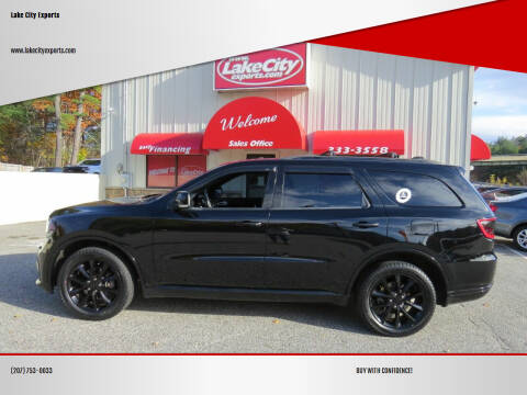 2017 Dodge Durango for sale at Lake City Exports - Lewiston in Lewiston ME