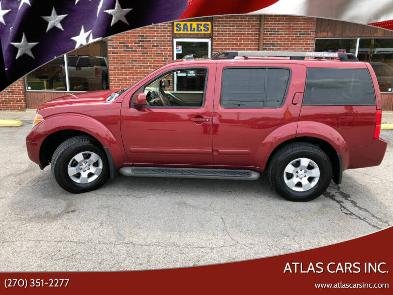 2007 Nissan Pathfinder for sale at Atlas Cars Inc. in Radcliff KY