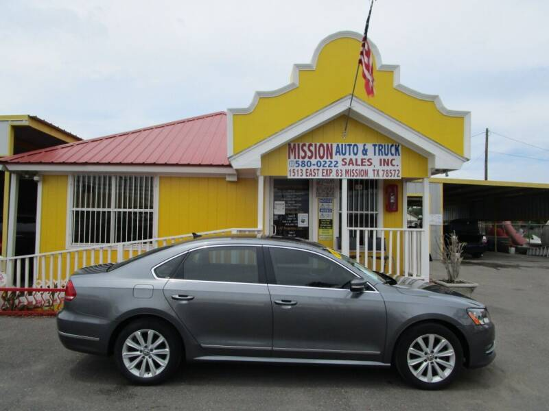2013 Volkswagen Passat for sale at Mission Auto & Truck Sales, Inc. in Mission TX