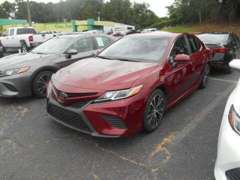 2019 Toyota Camry for sale at AUTO MART in Montgomery AL