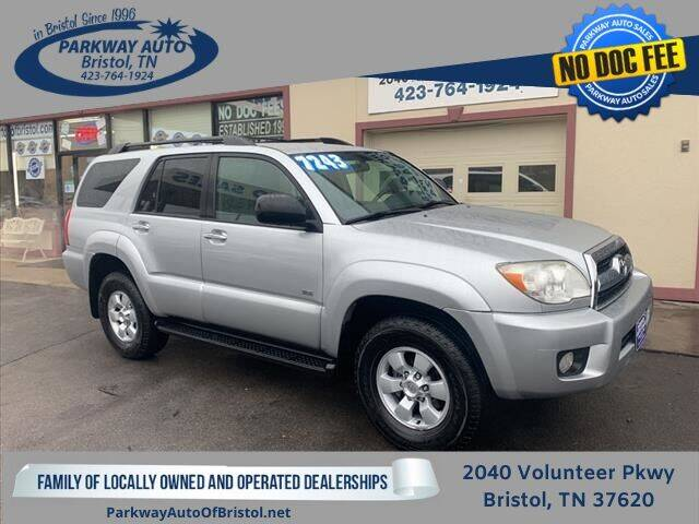 2007 Toyota 4Runner for sale at PARKWAY AUTO SALES OF BRISTOL in Bristol TN