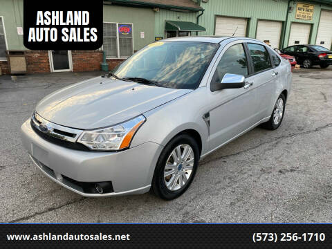 2008 Ford Focus for sale at ASHLAND AUTO SALES in Columbia MO