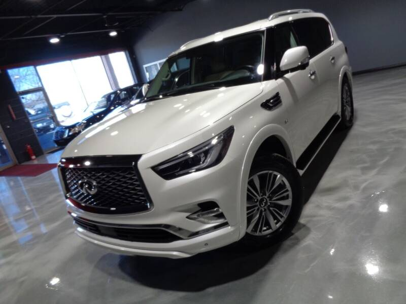 2018 Infiniti QX80 for sale at Auto Experts in Shelby Township MI