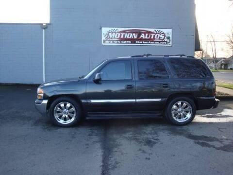 2004 GMC Yukon for sale at Motion Autos in Longview WA