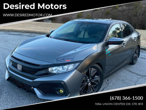 2018 Honda Civic for sale at Desired Motors in Alpharetta GA