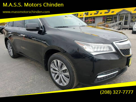 2014 Acura MDX for sale at M.A.S.S. Motors Chinden in Garden City ID